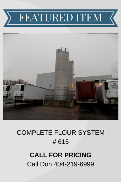 COMPLETE FLOUR SYSTEM – INV# 615